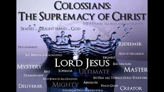 Bible : Colossians