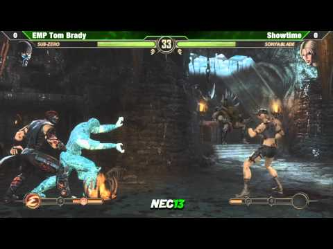 EMP Tom Brady vs Showtime - NEC13 MK9 Singles