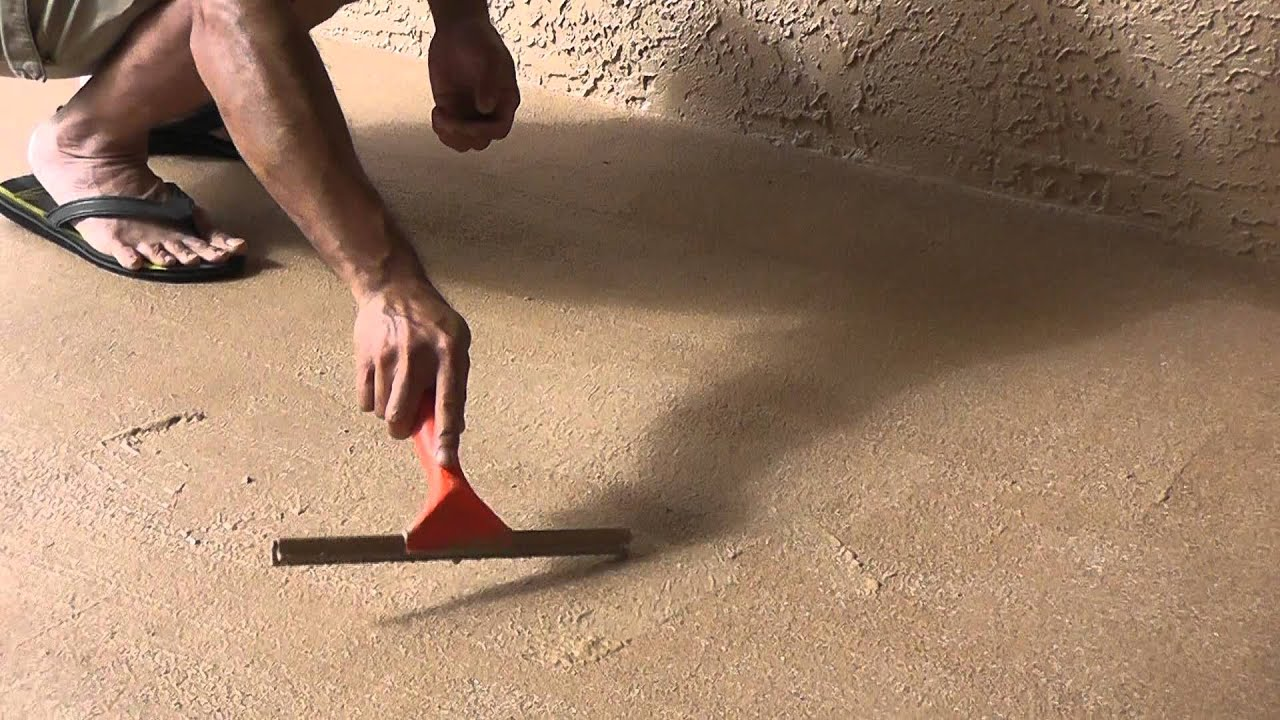 My Review Of Rustoleum Decorative Concrete Coating And