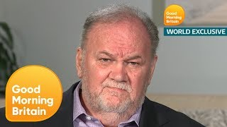 Thomas Markle Admits Staged Paparazzi Pictures Were a Mistake | Good Morning Britain
