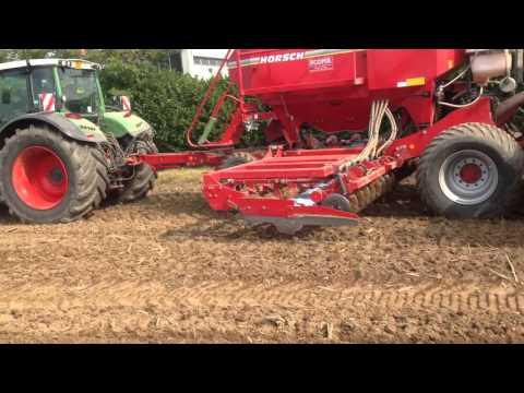 Semina cereali autunno-vernini dopo lavorazione Karat della Lemken