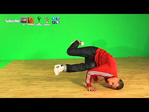 Como Hacer El Baby Freeze- Breakdance Tutorial Aprender A Bailar Break Dance video