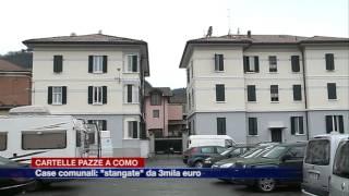 Etg - Case comunali, cartelle pazze a Como