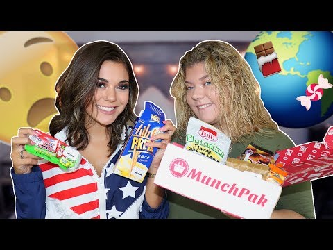 TRYING SNACKS, CANDIES & DRINKS FROM AROUND THE WORLD!