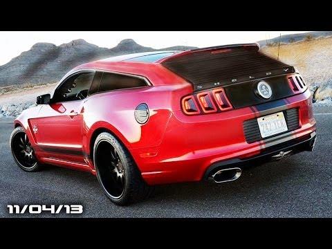 Mustang Wagon, Cadillac Elmiraj Possible, Lexus LS-F, GM Wants Online Sales, & CoW!