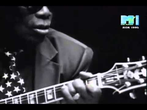 John Lee Hooker with Carlos Santana - Chill Out (Music Video)