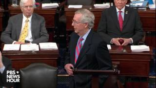 WATCH: Sen. Mitch McConnell speaks after