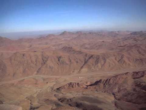 The top of Mount Sinai, Egypt