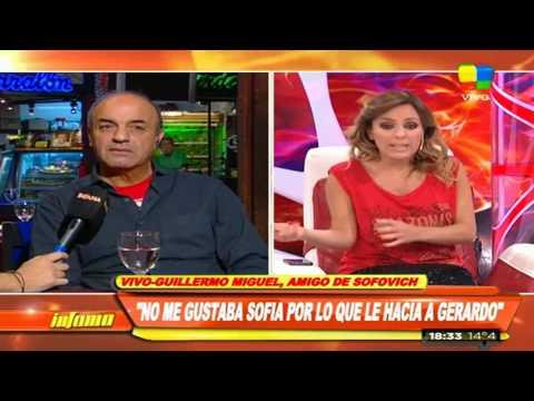 """Guillermo Miguel: """"Lo vi sufrir mucho a Gerardo"""""""