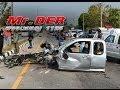 อุบัติเหตุ : รถกระบะ ประสานงา รถเก๋ง หน้าชะอำฟิชชิ่งปาร์ค