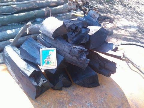 Древесный уголь в домашних условиях своими руками