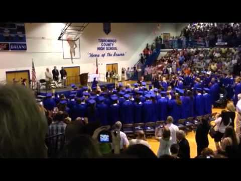 Tishomingo County High School Graduation 2014