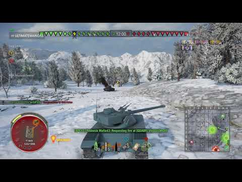 World of tanks - B C 25t  xbox gameplay HD
