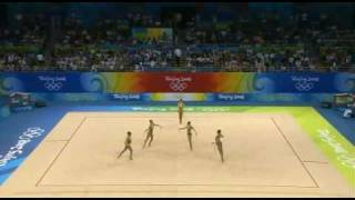 Brazil 5 ropes 2008 olympic games Beijing