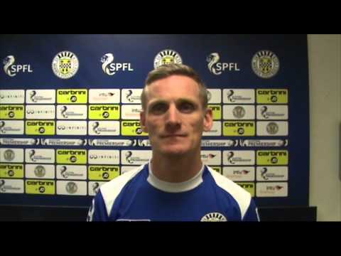 Gary Teale * Match Reaction * St Mirren v Dundee * 24/01/2015