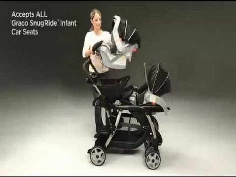 Double Strollers Reviews Graco Ready2Grow Classic Connect LX
