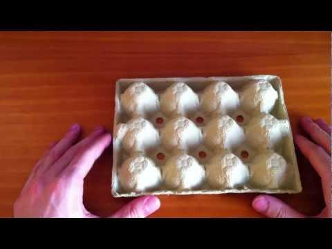 Manualidades: hacer manualidades con cartón de huevos - manualidades con materi