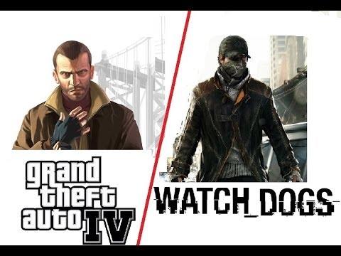 Watch_Dogs VS GTA IV или куда смотрели бета тестеры.
