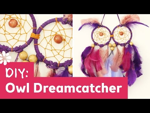 DIY Owl Dreamcatcher