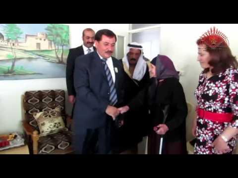 الشيخ حميدي الدهام الهادي يزور السريان ويهنئهم بعيد القيامة
