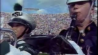 Notre Dame Michigan State Bands 9 11 Amazing Grace Tribute