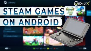 GPD XD Plus and Steam Link app - Setup, stream and play Steam PC games on your Android mobile