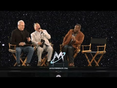 William Shatner, LeVar Burton and Brent Spiner