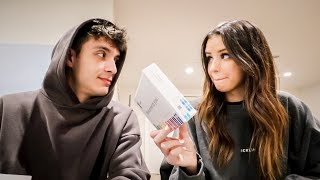 Husband & wife taking a DNA test!!
