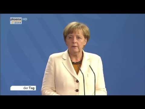 Ukraine-Krise: Angela Merkel & Alexander Stubb zur aktuellen Lage am 29.09.2014