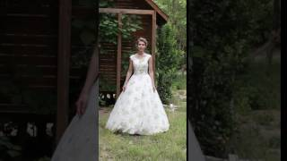 A-line Wedding Dress - Chic & Modern Wedding Dress in Color Floor-length/Gowns by LightInTheBox