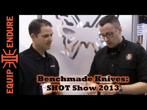 Benchmade Knives New Blades. Shot Show 2013