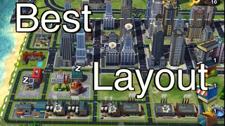 SimCity BuildIt: Best City Layout