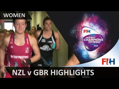 New Zealand v Great Britain Match Highlights #HCT2016