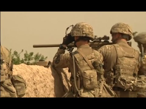 St Battalion 23rd Infantry Regiment Soldiers Return Fire in Afghanistan!