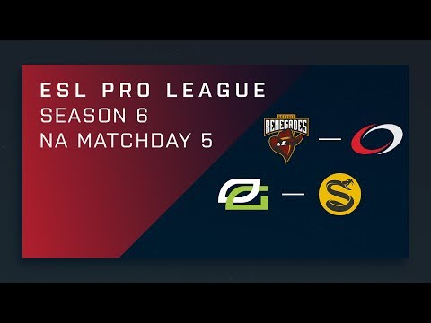 Full Broadcast: Renegades vs compLexity | OpTic vs. Splyce - Day 5 - ESL Pro League Season 6 - NA