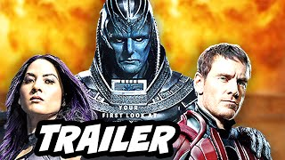 X Men Apocalypse Comic Con Trailer Breakdown