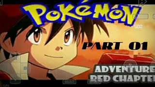 POKEMON RED ADVENTURES PART 01 JOURNEY BEING RED