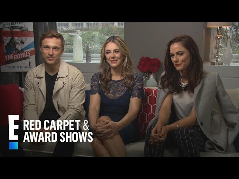 """Liz Hurley Talks Acting With Son Damian on """"The Royals"""" 