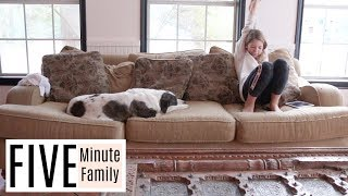 Homeschool Morning Routine   Five Minute Family Vlog 2