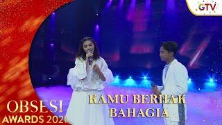 Download lagu SARWENDAH FEAT BETRAND PETO PUTRA ONSU - [KAMU BERHAK BAHAGIA] | OBSESI AWARDS 2021