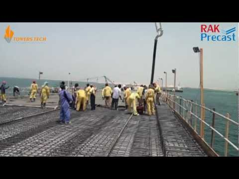 Rak precast Works  ( Offshore Bridges )  RAK , UAE