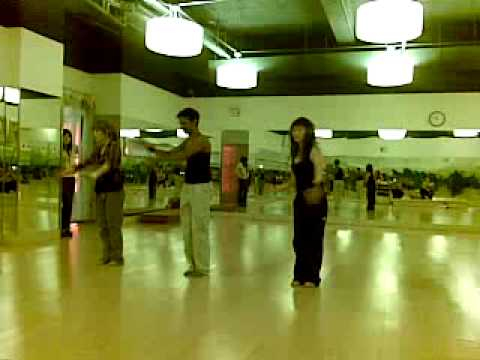 yogawave   master jai  Bollywood dance demo -Partner~Soni De...