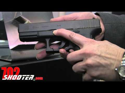 Lasermax Glock G19 & G23 Gen 4 Internal Guiderod Laser @ 2013 SHOT Show