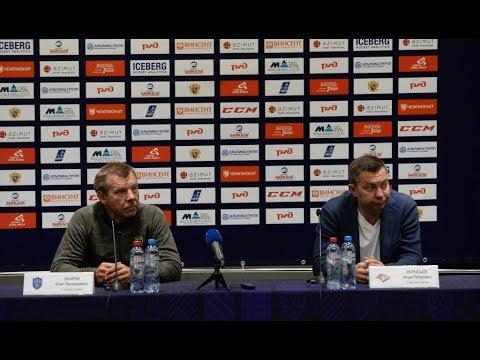 СКА - Металлург Мг: пресс-конференция / SKA - Metallurg Mg: press conference