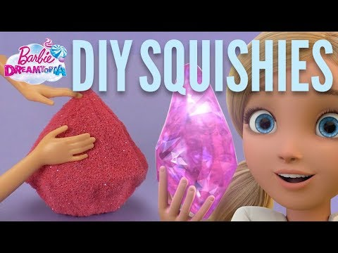 DIY Squishy Gems with Barbie® | Barbie