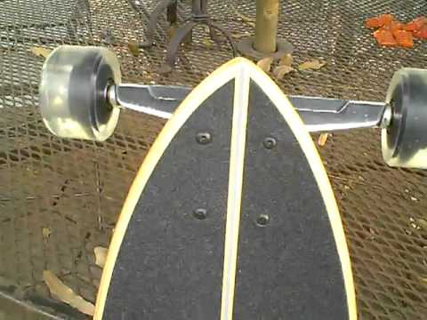 Original Pintail 40 longboard