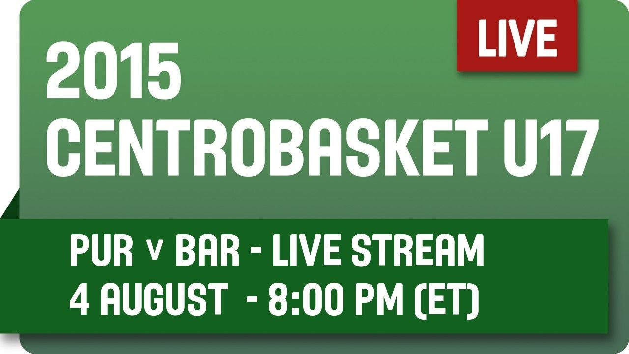 Puerto Rico v Barbados - Group B - 2015 Centrobasket U17 Championship