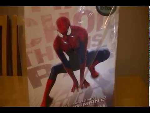 Hot Toys Amazing Spiderman 2 Unboxing