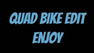 Quad bike POV