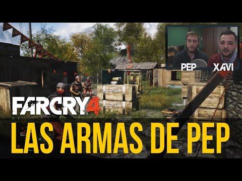 FAR CRY 4: PROBAMOS LAS ARMAS, las favoritas de Pep (¡A por los logros y trofeos!)